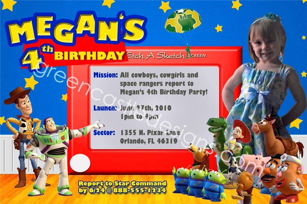 Toy story party invitation i want this invite for jasons bday toy story party invitation i want this invite for jasons bday stopboris Gallery