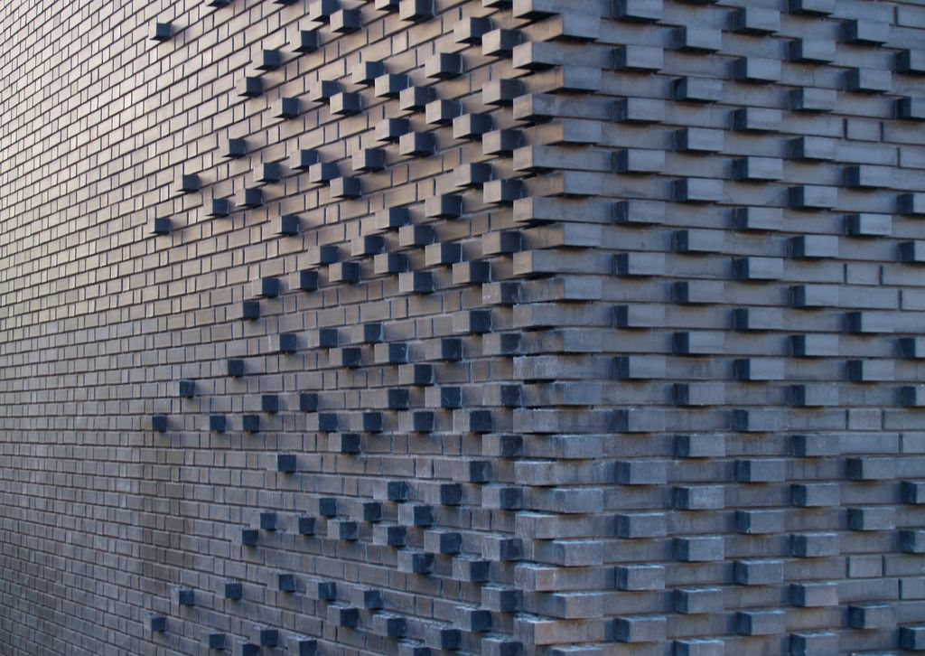 find this pin and more on brick wall design - Brick Wall Design