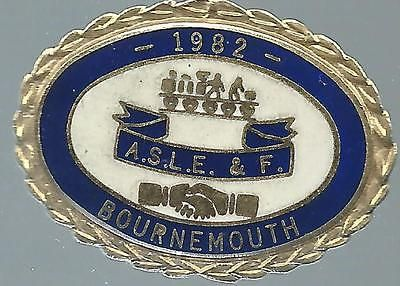 #Aslef #bournemouth branch 1982 #badge,  View more on the LINK: http://www.zeppy.io/product/gb/2/122044861364/