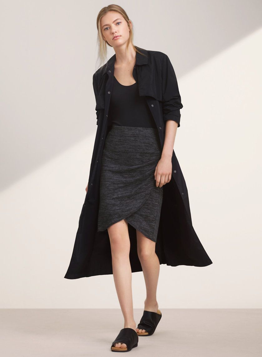 <p>A body-skimming favourite in Wilfred Free's signature fabric</p>