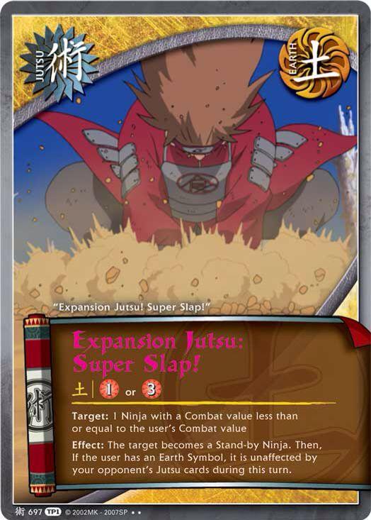 Expansion Jutsu: Super Slap!