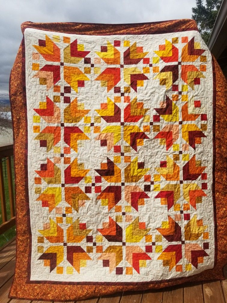 2019 The Pattern Is Harvest An Autumn Quilt Fall Quilts Fall Quilt Patterns Quilts