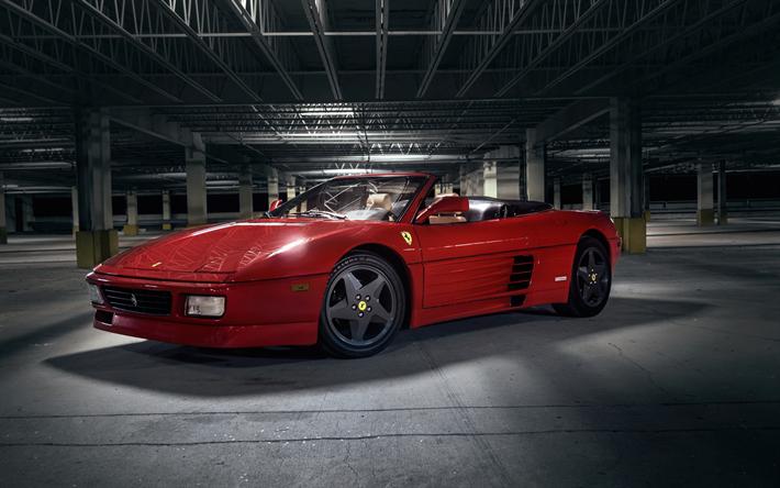 Descargar Fondos De Pantalla Ferrari 348 Retro Coche