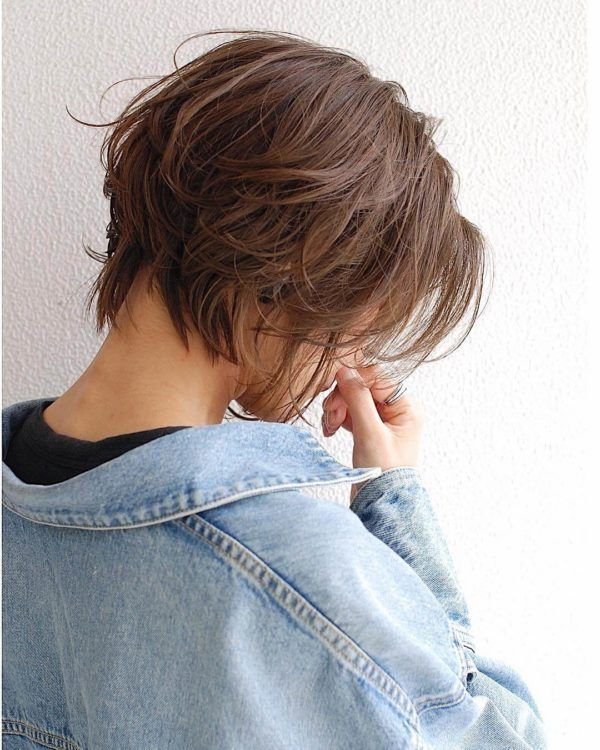 ラフな質感のショートヘア|代官山の美容室 ミドルダイカンヤマ(middle daikanyama)ス