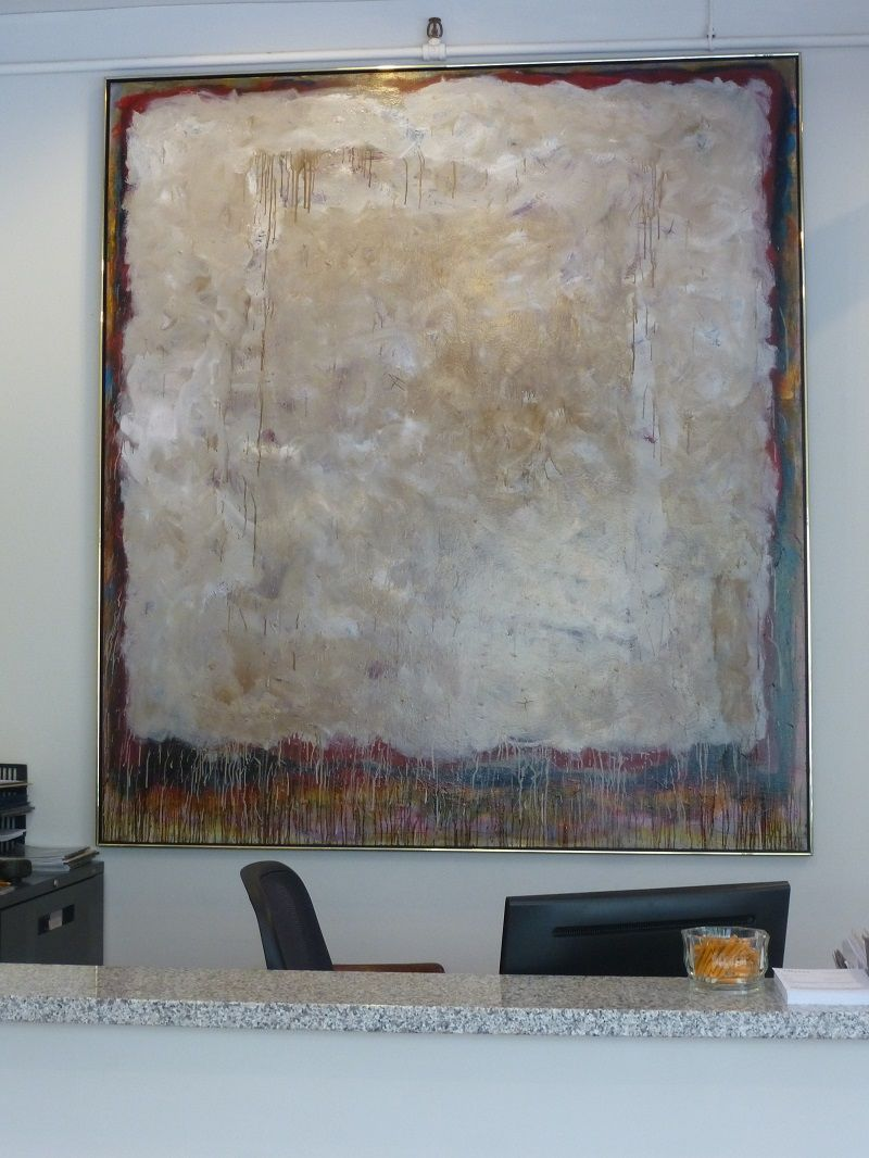 """Jean McEwan piece that will be featured at our June 10, 2015 Fine & Decorative catalogue auction. 87"""" x 78"""""""