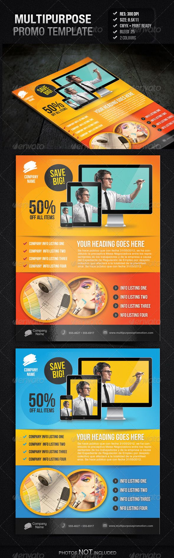 multipurpose promotion flyer template ad advertise business multipurpose promotion flyer template ad advertise business computer corporate