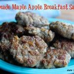 maple apple breakfast sausage  >>  http://www.savorylotus.com/2013/08/19/homemade-maple-apple-breakfast-sausage/