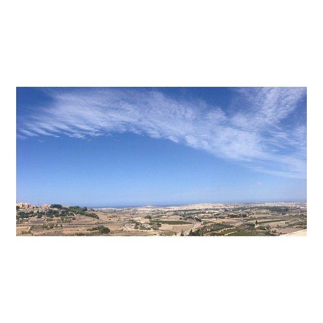 Malta from the walled city Mdina // #malta #mdina #holidays #view