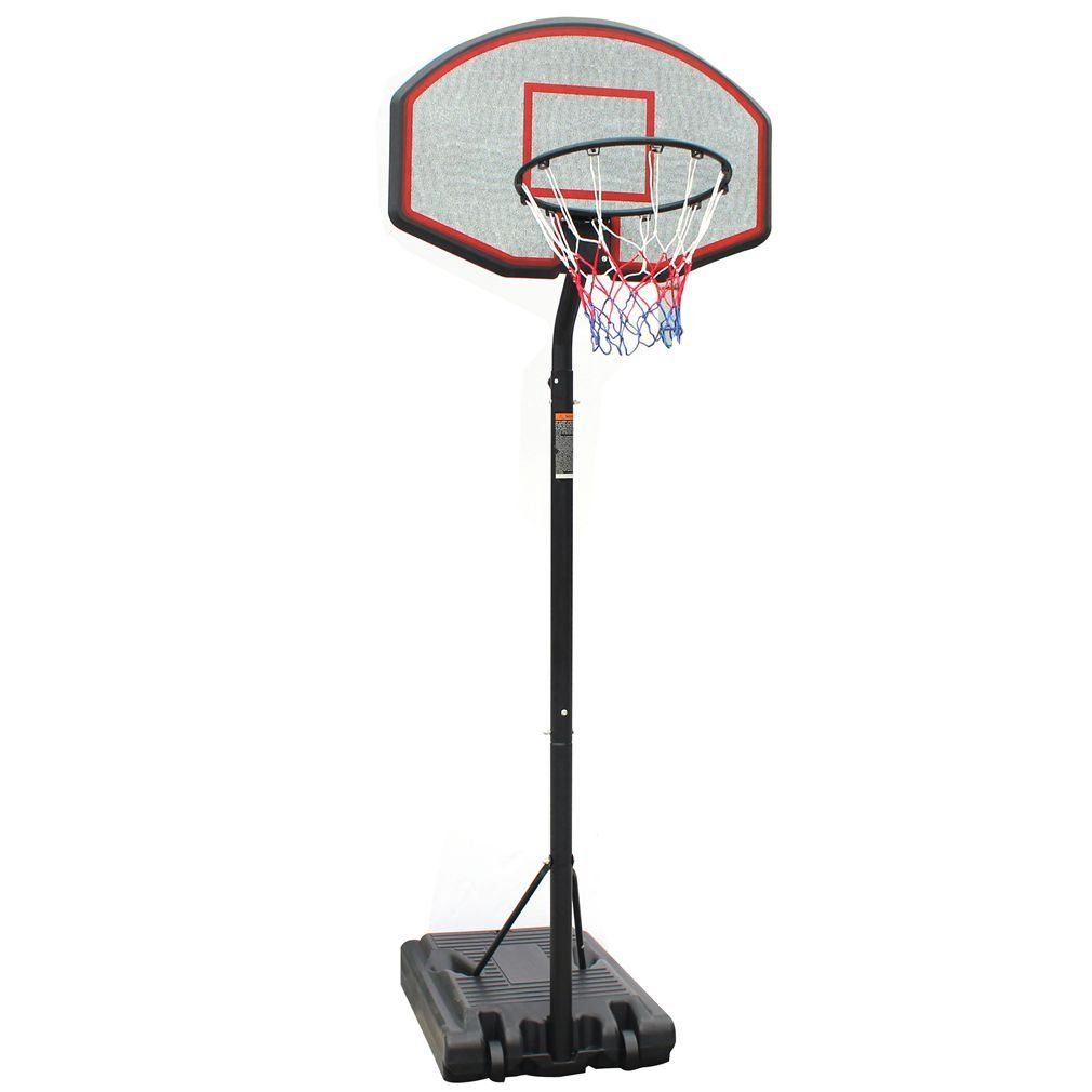 Movement God Height Adjustable Youth Portable Basketball System With 36 Inch Backboard Rim Dia 17 7 Basketball Systems Backyard Basketball Basketball Hoop