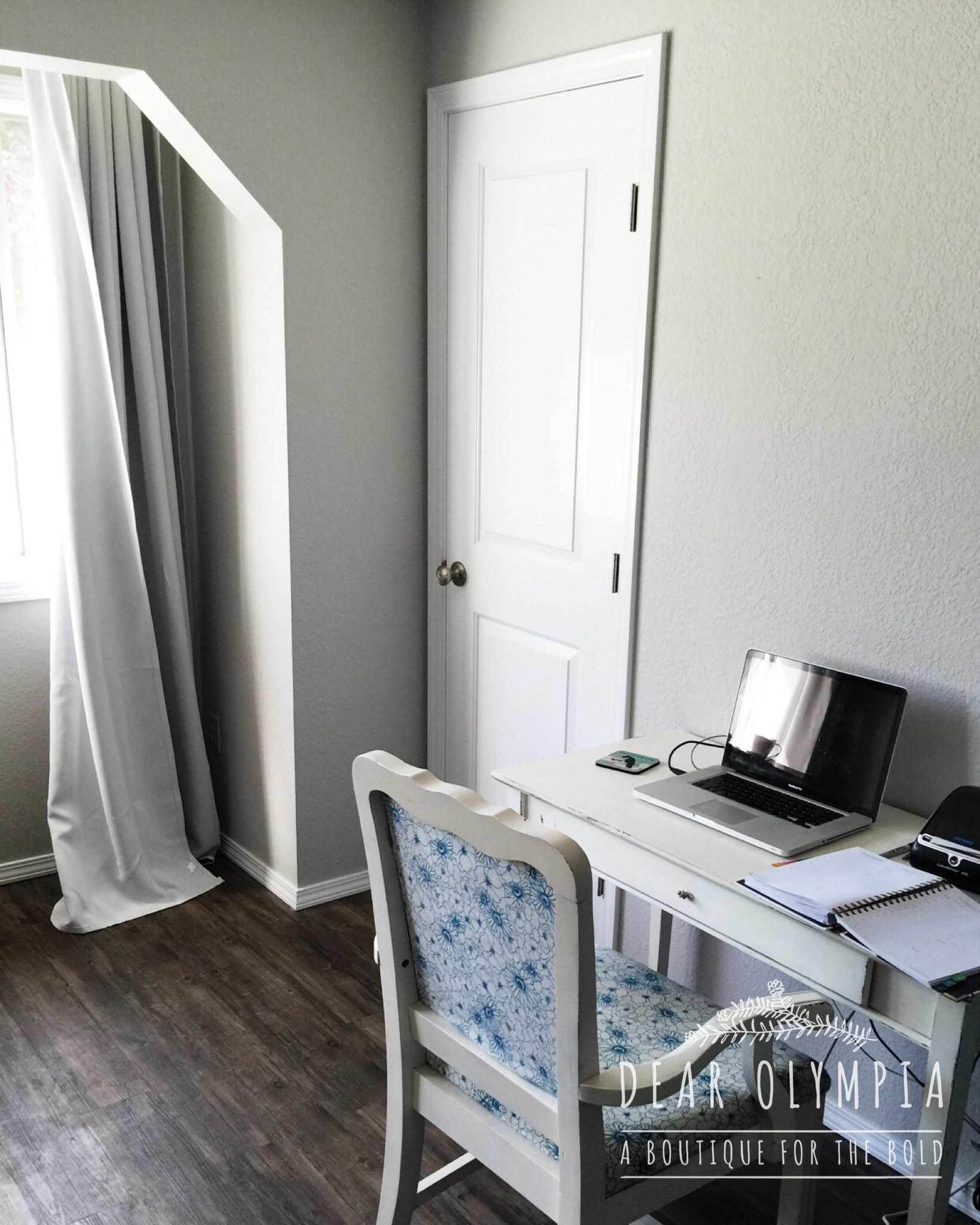my grey and white office space and bedroom repose grey