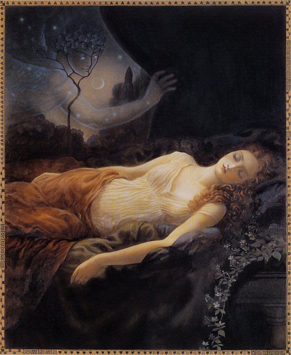 картинки мифы о сне того, входил