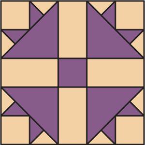 Goose Tracks quilt block | Civil War quilts-Tracks (of fowl ... : turkey quilt block - Adamdwight.com