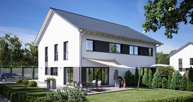 The 25+ best ideas about Doppelhäuser on Pinterest | Hauseingang ...