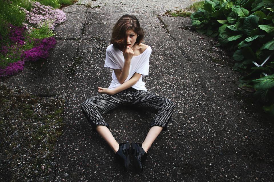 Shop this look on Kaleidoscope (pants, shirt)  http://kalei.do/WukGaOdZsb72fTJ6