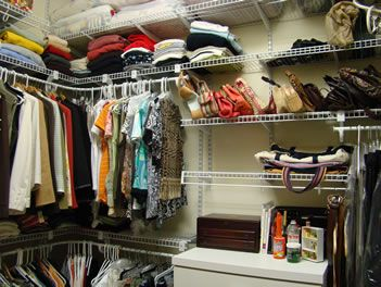 Lowes Closet Rod Well Not Really Exciting But We Are Long Overdue Organizing Our