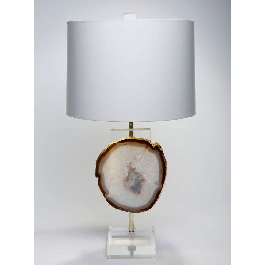 Agate Table Lamp Amber Agate Table Table Lamp Lamp