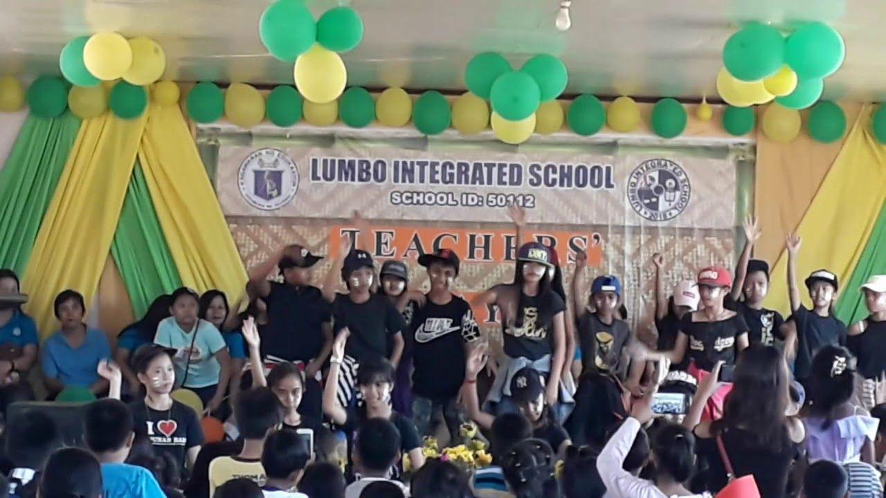 Lumbo Integrated School Grade 6 Dance Intermission Cover