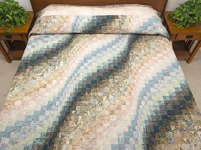 colcha em Bargello | bargello quilt patterns | Pinterest | Batik ... : bargello wave quilt pattern - Adamdwight.com