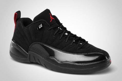 big sale b58cd a32e2 2011-Nike-Air-Jordan-12-XII-Retro-Low-Black-Varsity-Red-Size-14-308317 -001-bred