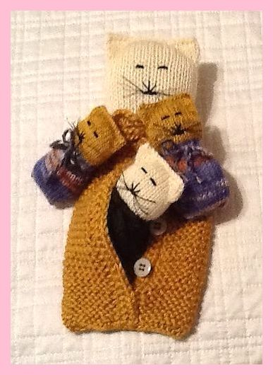 Photo of SOHO Mama-Katze und ihr Baby-Kätzchen-Muster von Judithmarieknits, #by #judithmarieknit …