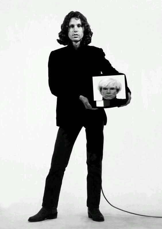 m  Jim Morrison by Andy Warhol | The Lizard King | Jim