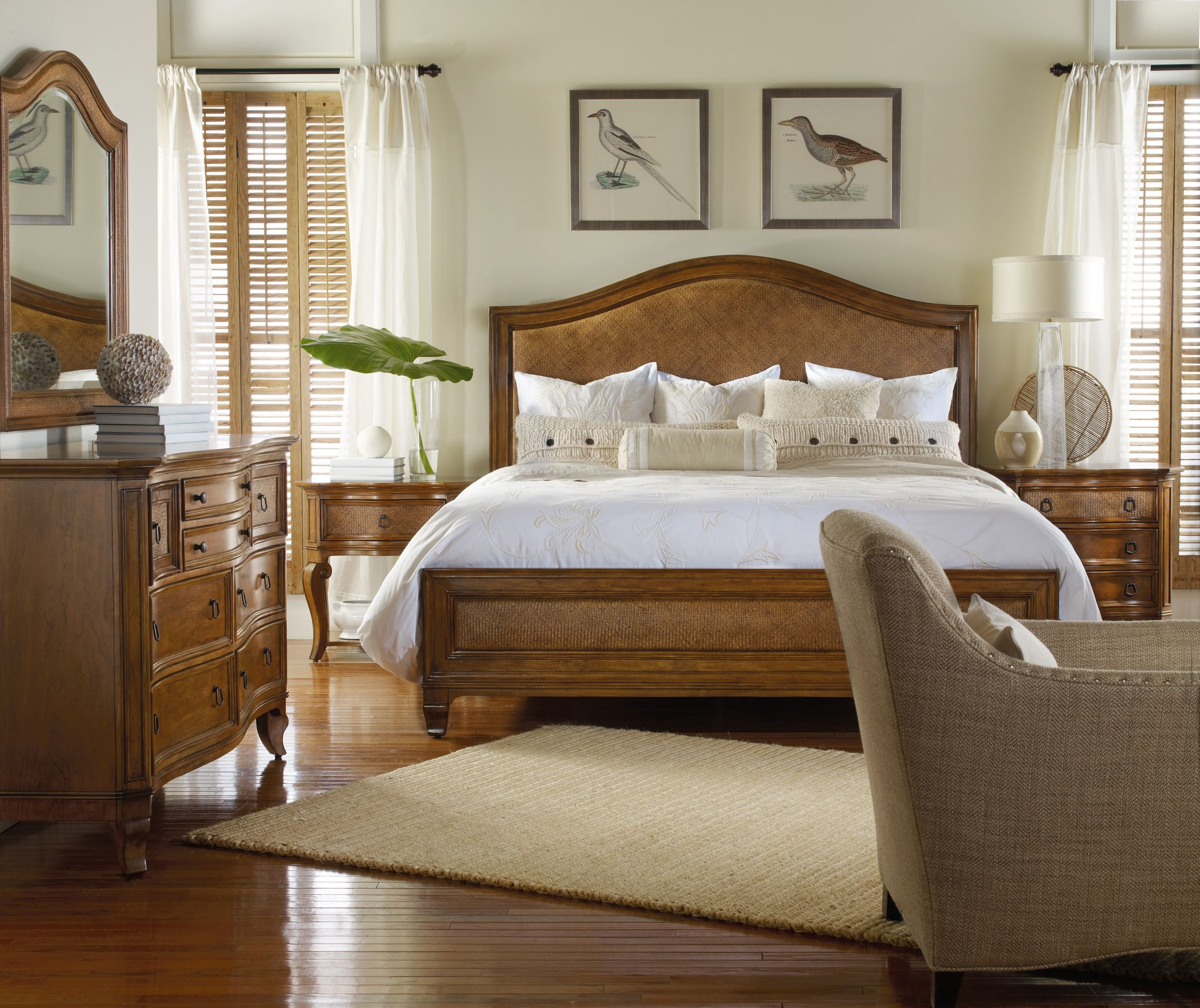 Coastal - Bedroom - Photos by Wayfair  Wayfair  Brown furniture