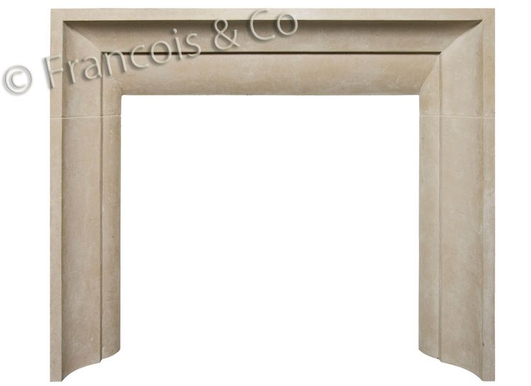 Francois & Co | Contemporary Mantels | Cast Stone Fireplace Surrounds | Limestone  Mantels - Limestone Fireplaces, Stone Mantles In Texas Limestone, Fireplace