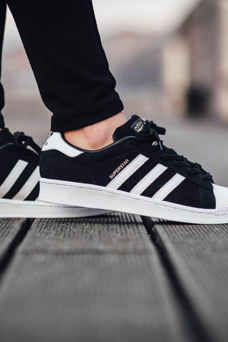 Superstar Adidas Suede Core Rockstar Black 6Cxpnxd