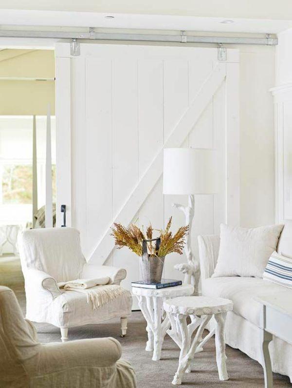 natur komplett weiß schiebetüren selber bauen Wohnzimmer \/ Flur - wohnzimmer komplett weis