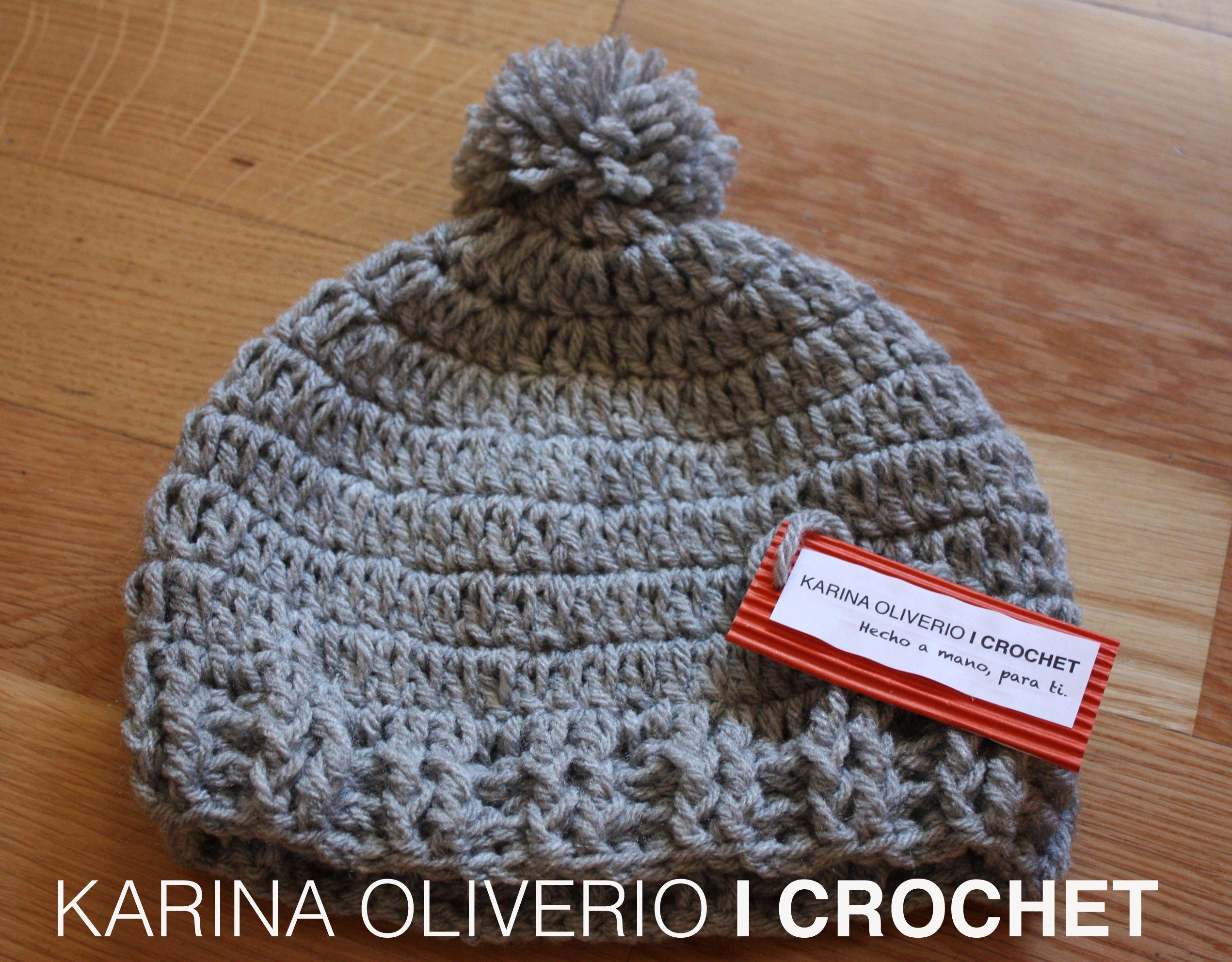 Crochet hat pattern, hand made. Gorro para niños y niñas con ...