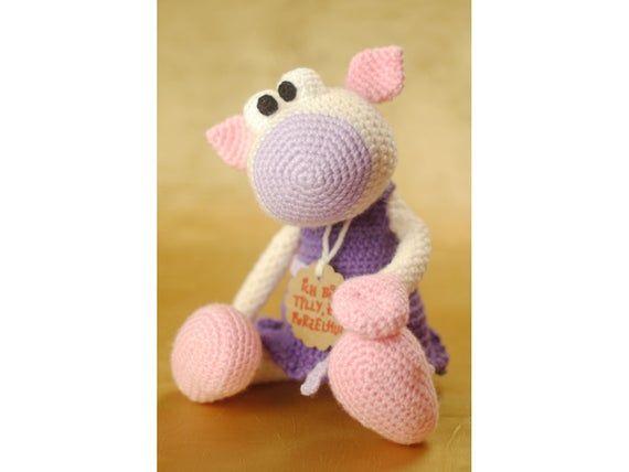 Clocked Amigurumi Cuddly Toy with for Girls (mit