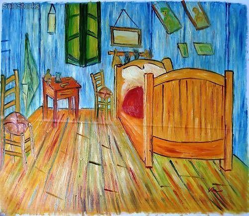 La Habitacion Van Gogh Cuadros De Pintores Famosos Cuadros Pintura Arte Abstracto Colorido