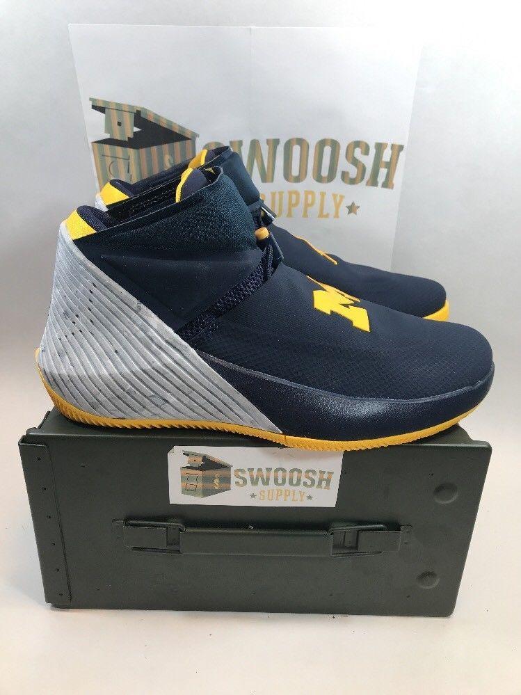 Nike Air Jordan Why Not Zero 1 Michigan Russell Westbrook Aa2510