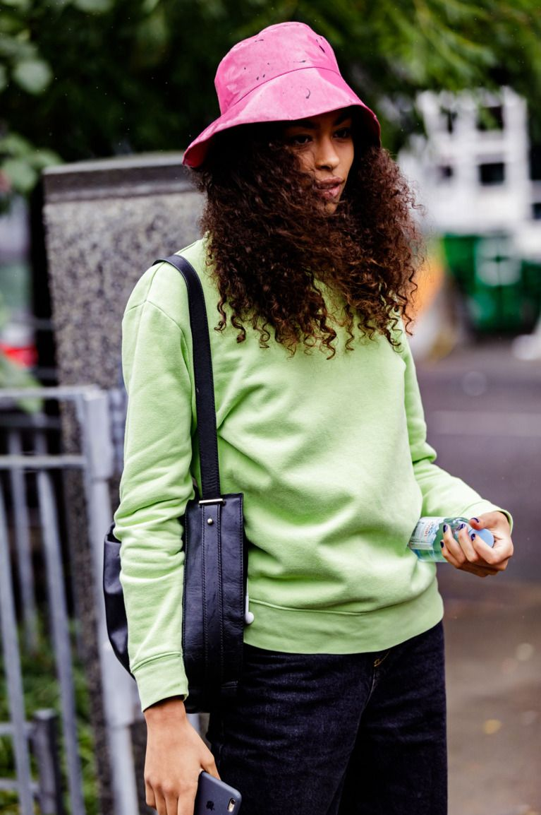 5c015c68bf3 The best street style at New York Fashion Week featured tons of bucket hats