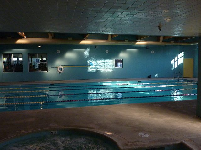 21st century health club swimming pool and spa facilities.
