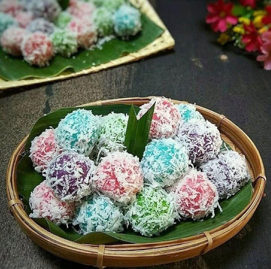 Resep Klepon Singkong Warna Warni Cantik Dan Cara Membuatnya Iniresep Com Resep Resep Resep Cepat Kue