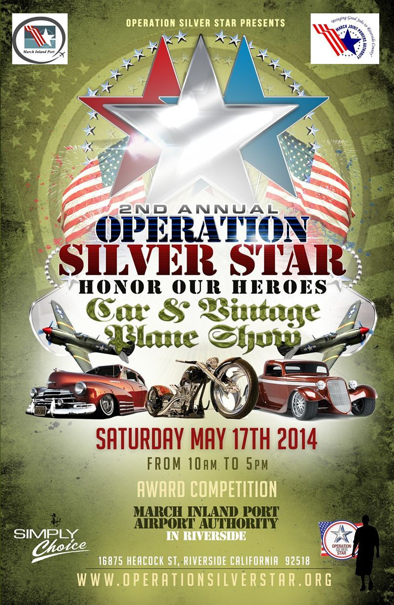Heads Up Inland Empire! Tomorrow is the Operation Silver
