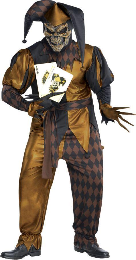 Adult Joker S Wild Skeleton Costume Plus Size Party City