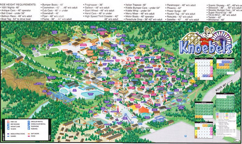 Knoebels Map - Map Design inspiration for visitors | Summer, Camping on kennywood map, frontier city map, adventureland map, seabreeze map, carowinds map, fun spot map, blackpool pleasure beach map, great escape map, waldameer map, knott's berry farm map, ghost town in the sky map, michigan's adventure map, cedar point map, six flags map, sesame place map, kings dominion map, wild adventures map, kings island map, delgrosso's map, kiddieland map,