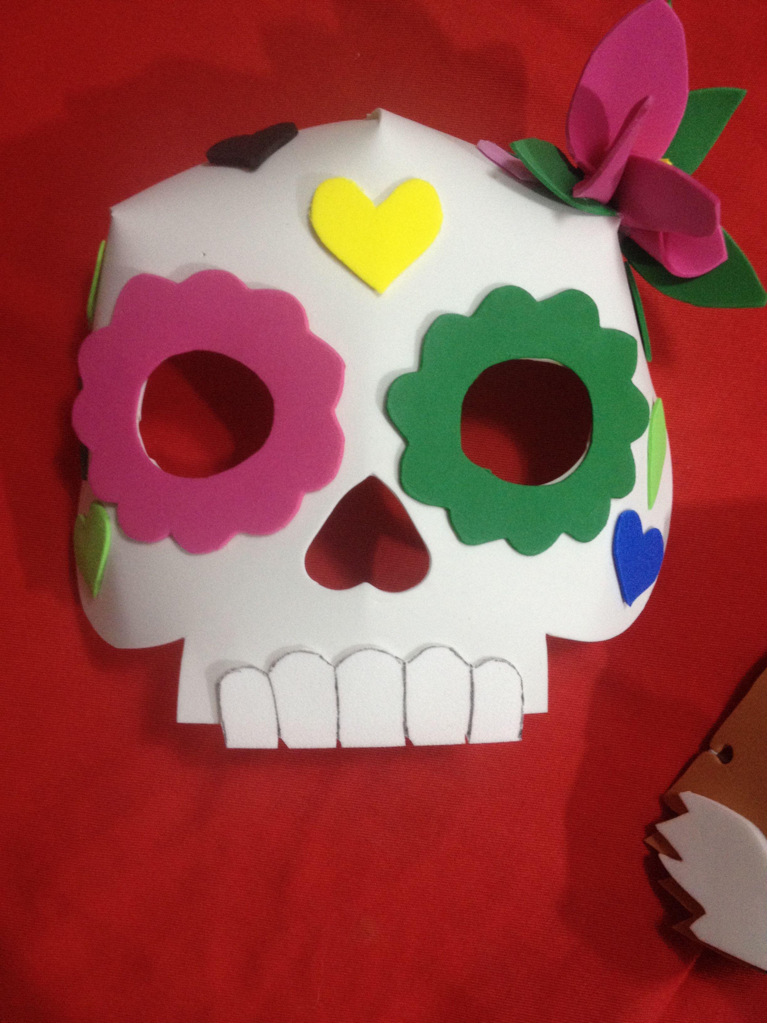 Mascara Em E V A Aulas De Arte Artes Aulas