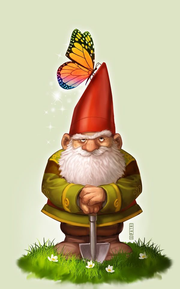 gnome painting - Google Search