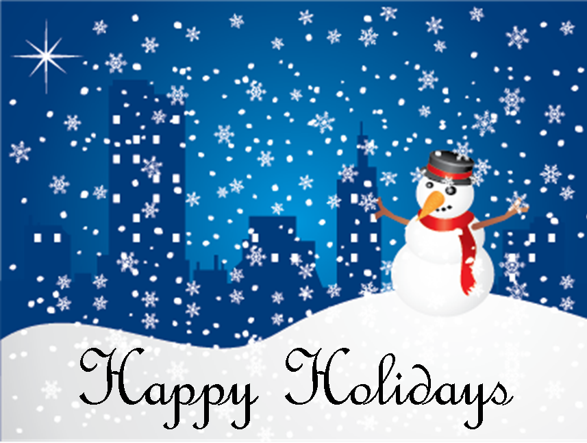 winter holiday animated clip art christmas happy holidays clipart