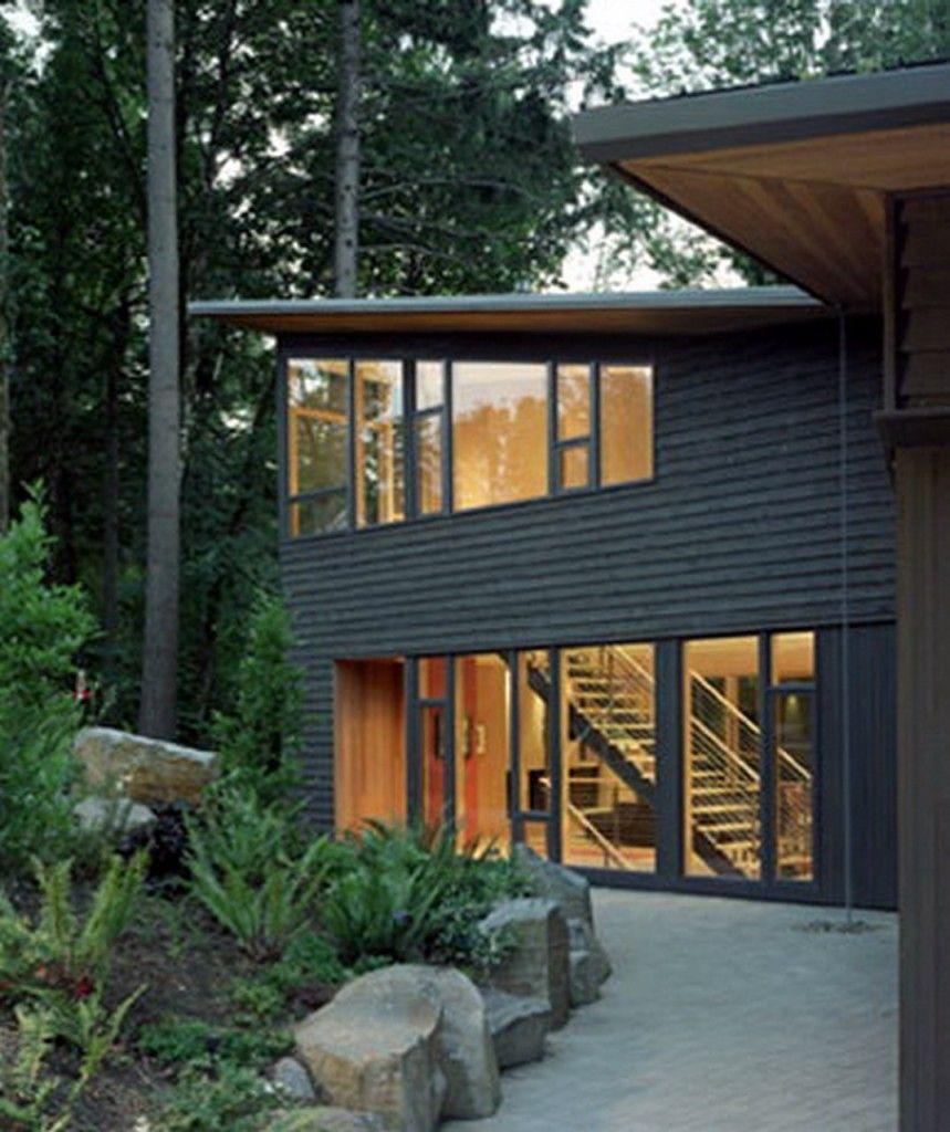 Interesting Forest House, Kitchel Residence headline