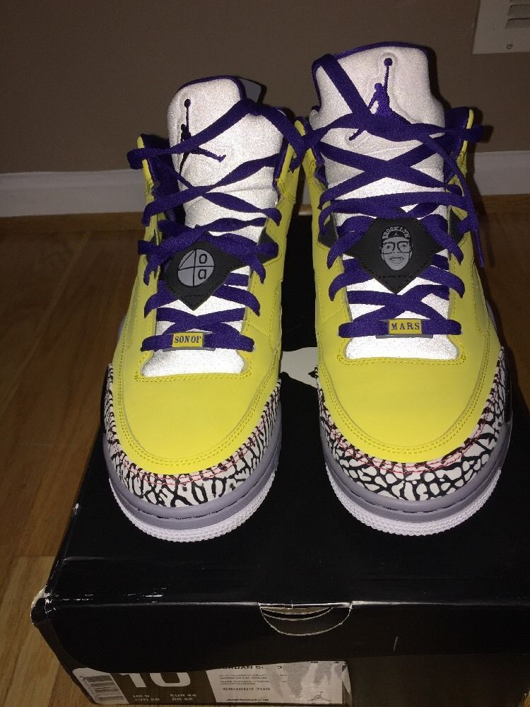 promo code c63a1 187e6 NIKE AIR JORDAN SON OF LOW TOUR YELLOW-GRAPE-CEMENT GREY  fashion  clothing   shoes  accessories  mensshoes  athleticshoes (ebay link)