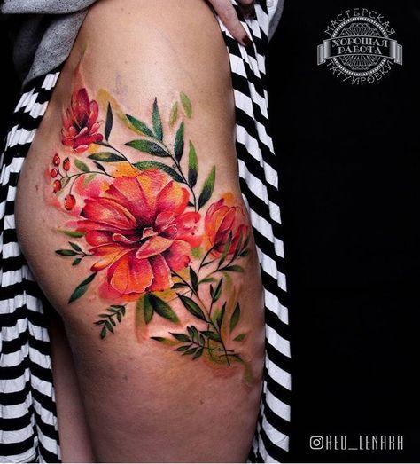 Piercing Intim Tattoos 50 Best Ideas | Floral tattoo