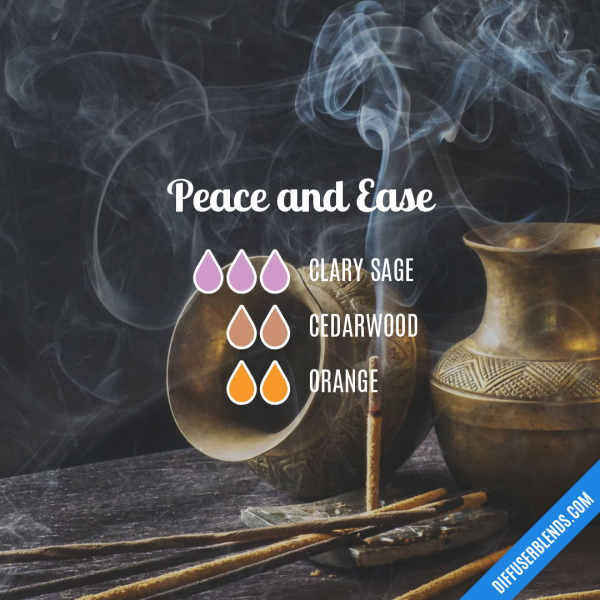 Peace and Ease - Essential Oil Diffuser Blend