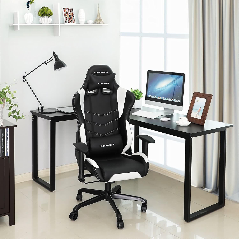 Songmics racing sport chair gaming chair highback