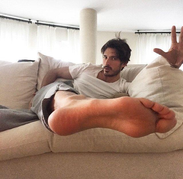 Male feet gay