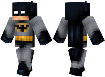 Batman Minecraft Print Skin Batman Things To Wear Pinterest - Skins para minecraft pe de batman