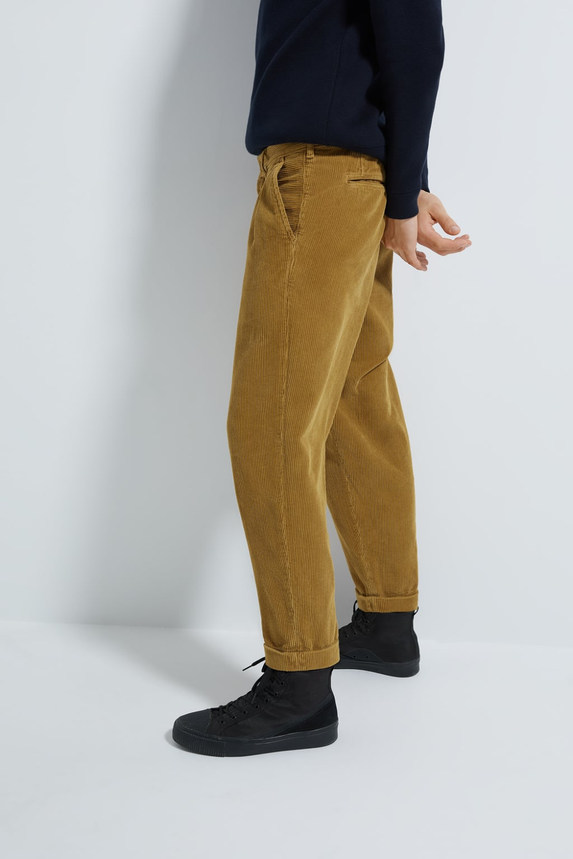 Pantalon Loose Pana Ver Todo Pantalones Hombre Zara Mexico Zara Fashion Pants